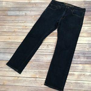 AEO 🦅 extreme Flex Slim  Straight Jeans 34x30